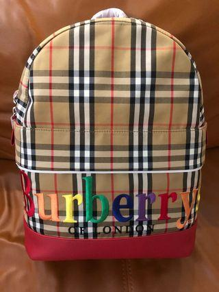 Brand new burberry backpack