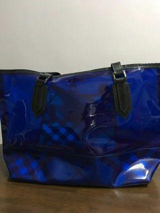 Burberry See-Through Tote Bag