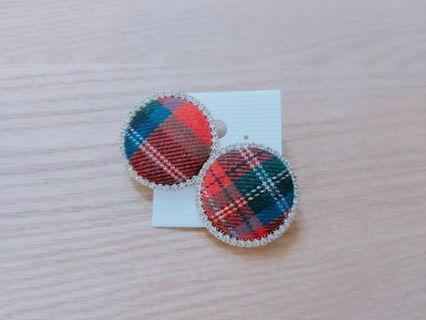 韓國直送英格蘭風格耳環