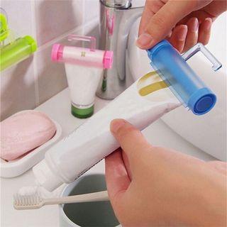 Squeezer Tube Toothpaste Rolling Holder Plastic