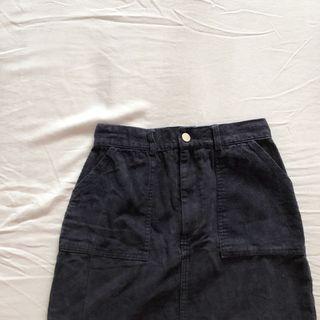 TEM Gela Corduroy Mini skirt