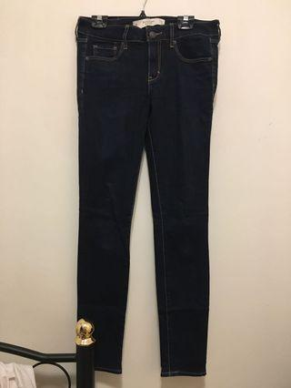 Abercrombie & Fitch A&F Dark Rinse Jeans Size 4R