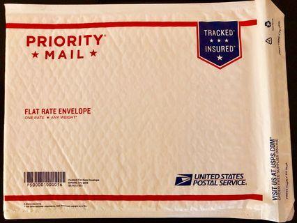 🚚 USA Postal Service Priority Mail Padded Envelope