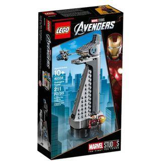 LEGO MARVEL Super Heroes 40334 Avengers Tower iron