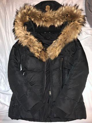 Authentic Mackage Adali Black Jacket S