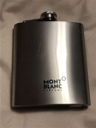 Mont Blanc Stainless Steel Flask 7oz