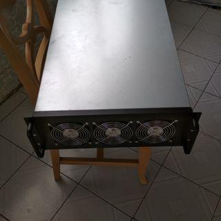 6 slots server case