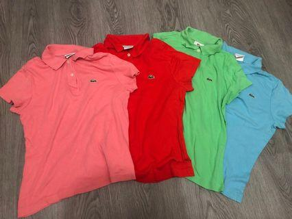 Lacoste polo Tee Woman M size