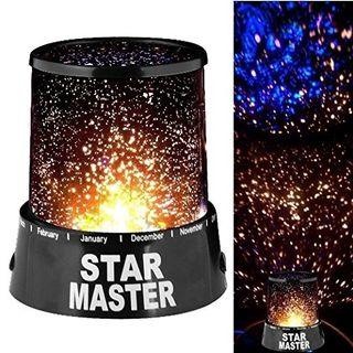 Amazing LED Starry Night Sky Projector Lamp Stars light Cosmos Master Kids Gifts