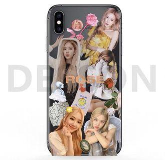Blackpink rosé custom phone case