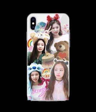 blackpink Jennie custom phone case