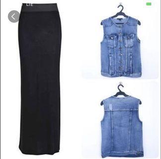 Buy1Take1 F21 Vest & Skirt