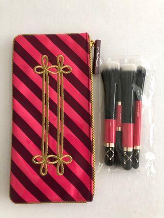 MAC Makeup Mini Brush Set. Christmas Limited Edition