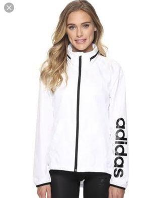 Adidas Windbreaker (White)