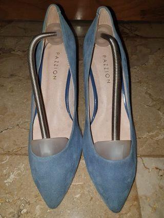 Pazzion Blue High Heels Original