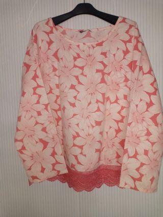 Atasan/blouse bunga st.yves