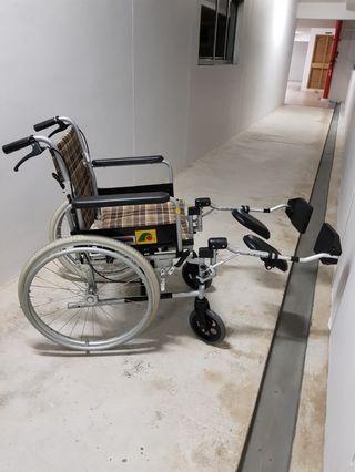 Elevating Wheelchair Rental (Please read)