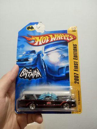 Hotwheels 2007 first editions batman