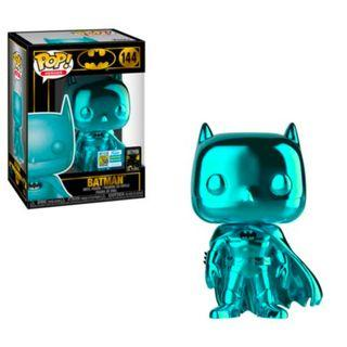 SDCC 2019 Teal Chrome Batman Funko