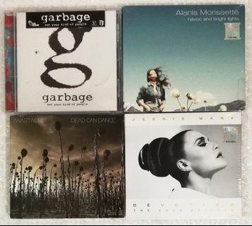 Jessie Ware - Devotion (The Gold Edition) (RM20) Alanis Morissette - Havoc And Bright Lights (RM20) SOLD>Dead Can Dance - Anastasis (RM25) Garbage - Not Your Kind Of People (RM25)