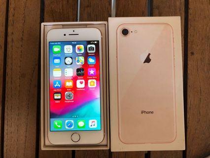 iPhone 8 256gb Gold Ex Inter ZP/A Fullset
