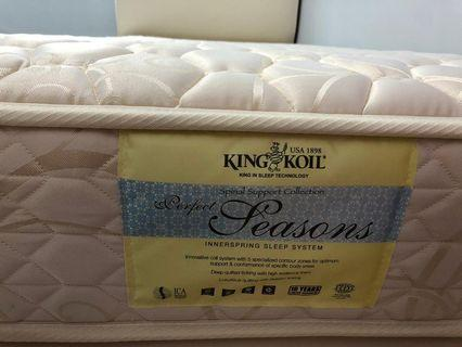 King Koil sSingle Mattress and Bed Frame