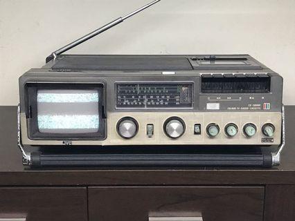 Vintage! JVC Radio TV Cassette Recorder