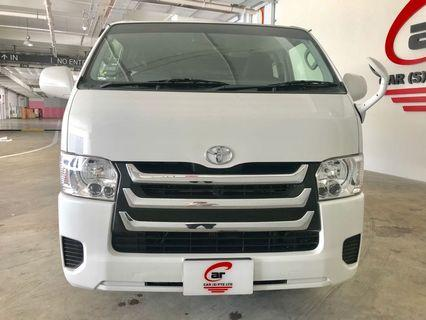 Toyota Hiace with Rear Aircon