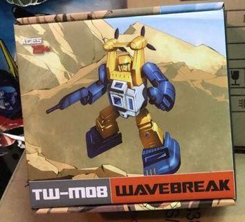 Transformers masterpiece scale Toyworld Wavebreak aka Seaspray