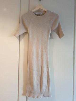 BNWT WHITE CLOSET DRESS | SIZE 8
