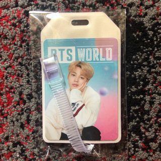 (WTT) BTS WORLD OST ALBUM LUGGAGE TAG
