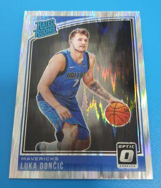 *RC* Luka Doncic Donruss Optic 2018-19 Flash Prizm
