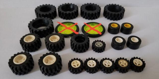 Lego 散件 車碌 輪胎