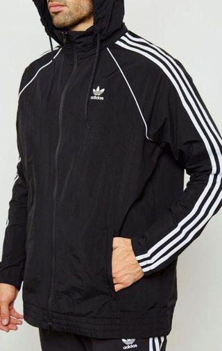 🚚 Adidas三線風衣外套