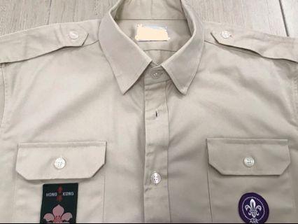 童軍👨🎨資深/領袖/樂行 特制訂造制服 🔴為2019年公益活動 只穿一次🔴厚身料💎洗完不用熨斗👍企理 修身制服