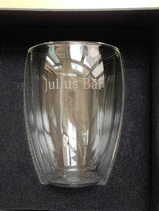 New Julius Baer water / wine glass