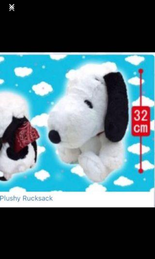Authentic Snoopy backpack