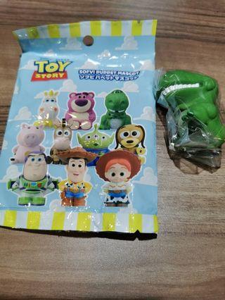 Toy story 反斗奇兵 泡泡龍 Rex 軟指頭公仔