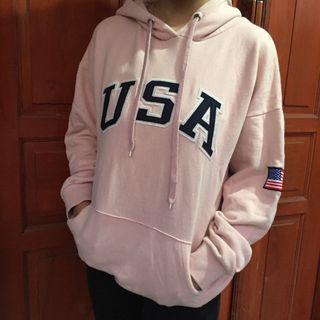 UNISEX USA HOODIE