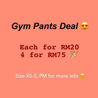 Women Gym Pants Deal 😍