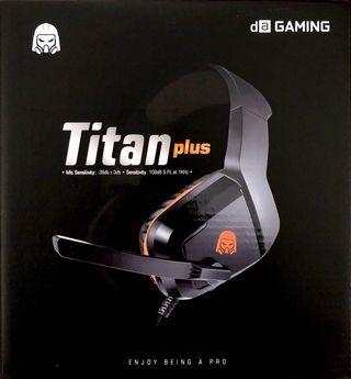 Headset Gaming - DA Gaming Headset Titan Plus