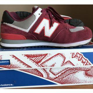 [PROMOTION 优惠    ORIGINAL] New Balance Classic 574 Sneaker Shoes [90% LIKE NEW]