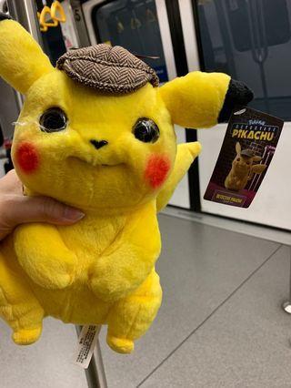 9 inch pikachu Detective for grab!! #pokemon