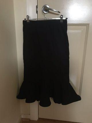 Black Mermaid Cute skirt