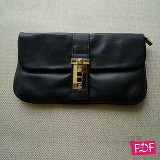 Casual luxury black bag import