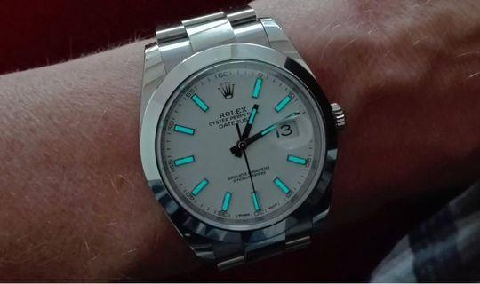 CHEAPEST!! Brand New Rolex DateJust II 41mm White Dial 126300 Oyster Bracelet AN Series