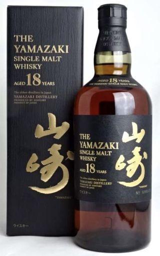 連盒 日版 山崎 18年 Yamazaki 日本威士忌