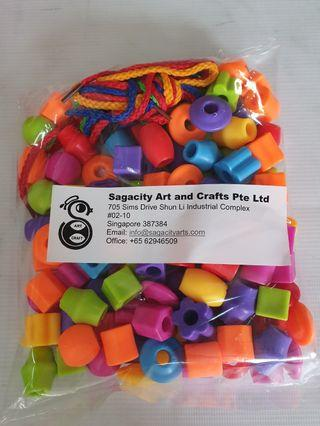 🚚 Manipulative Toys - Lace and Beads