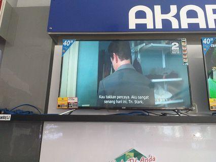 Tv akari 40inch bisa credit aja