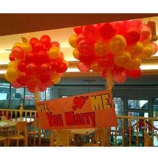 Helium belon surprise murah